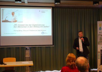 Dr. Stefan Döring auf der Fachtagung Sensordaten