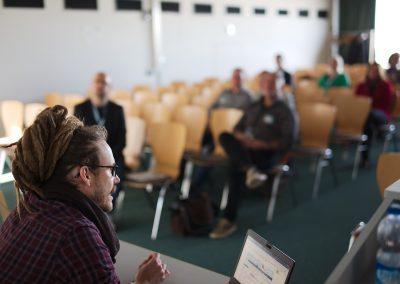 Session auf dem Sensorcamp