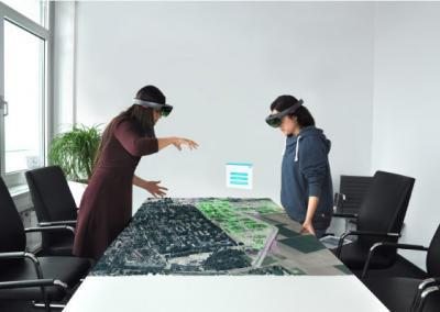 3D-Stadtmodell und Augmented Reality