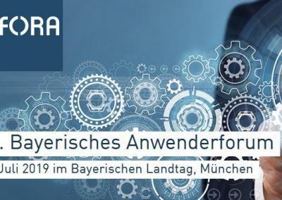 E-Government im Landtag – 11. Bayerisches Anwenderforum
