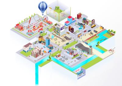 """""""Stadt I Land I Datenfluss"""" – Die App für spielerische Datenkompetenz"""