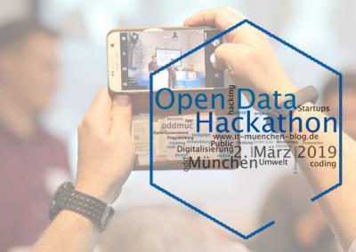 Offene Daten für ein digitales München – Der Bericht zum #oddmuc19