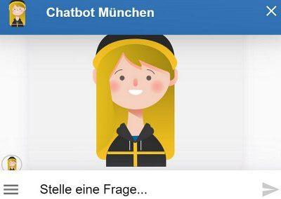 Chatbot für München – jetzt im Pilotbetrieb