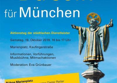 """Einladung zum Aktionstag """"Da sein für München"""""""