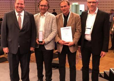 """München gewinnt GOLD für """"Bestes Infrastruktur – Projekt 2019"""""""