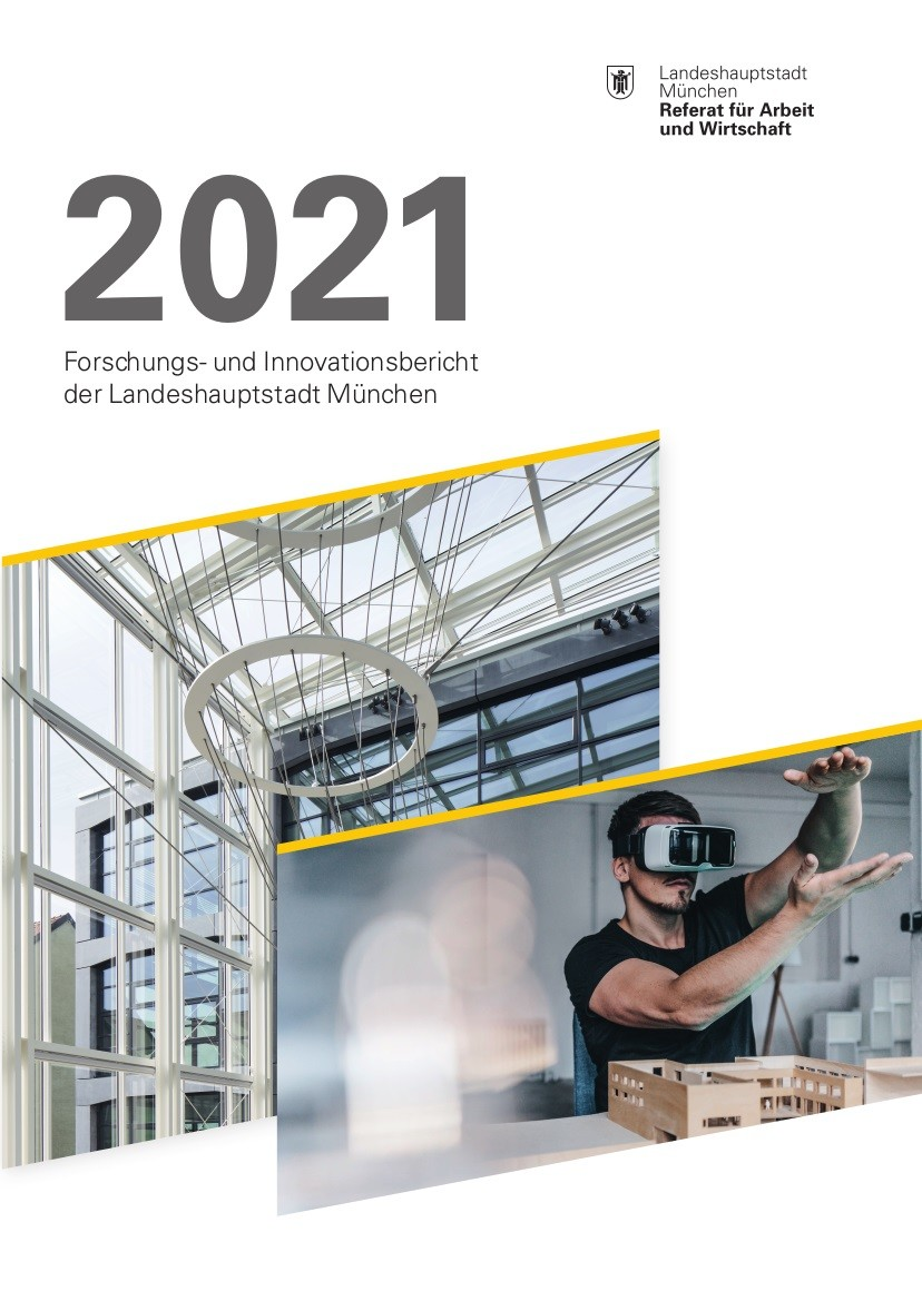 Titelseite Forschungs- und Innovationsbericht 2ß21