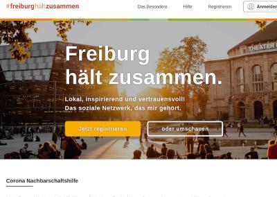 #freiburghältzusammen – Großexperiment virtuelles Freiburg
