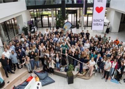 Teilnehmende auf dem FutureCamp 2018 in der Microsoft Zentrale