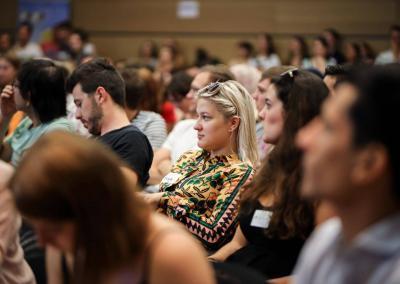 Teilnehmende auf dem FutureCamp 19, Foto: vonderschaumedia