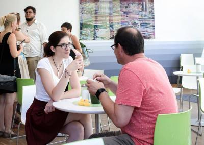 Pause beim FutureCamp