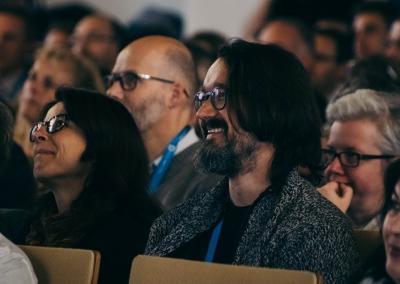 Gute Stimmung im Publikum, von Philipp von Derschau