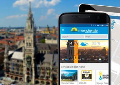 München als Smart City – die App nun auch für Android