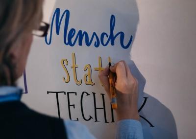 Mensch statt Technik, von Philipp von Derschau