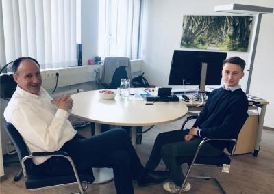 Thomas Bönig im Interview zum Leitbild des IT-Referates