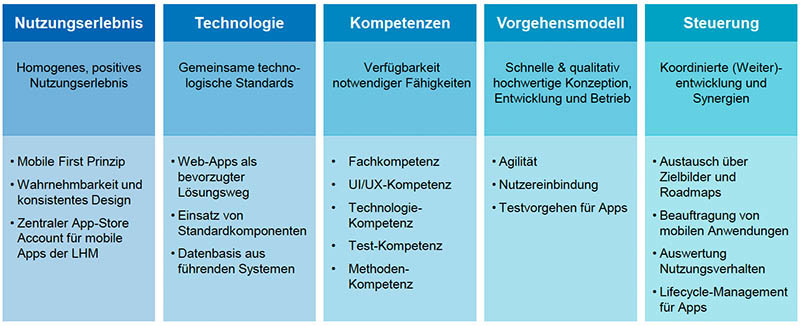 App-Strategie Handlungsfelder und Maßnahmen