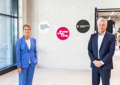 Susanne Klatten und Dieter Reiter