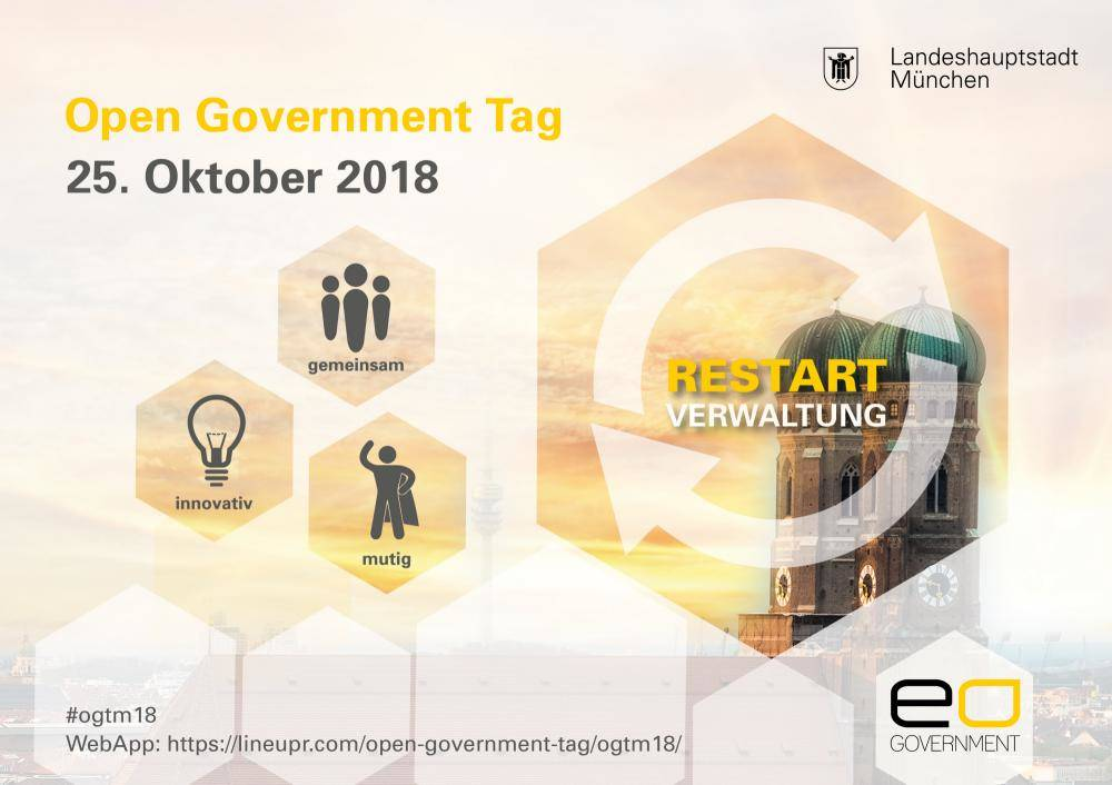 Restart Verwaltung – Impulse des Open Government Tag 2018