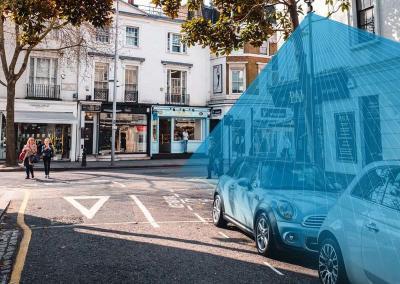 Verkehr erfassen und Parkplätze finden