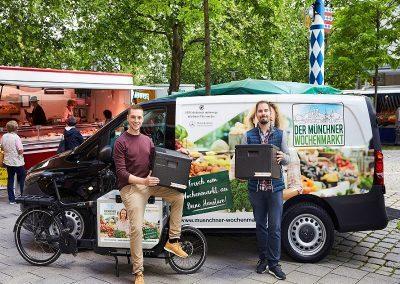 Frisch, regional und ökologisch: der Münchner Wochenmarkt Digital