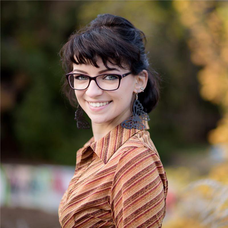 Ella Hiesch, - Nachwuchskraft im IT-Referat der Stadt München