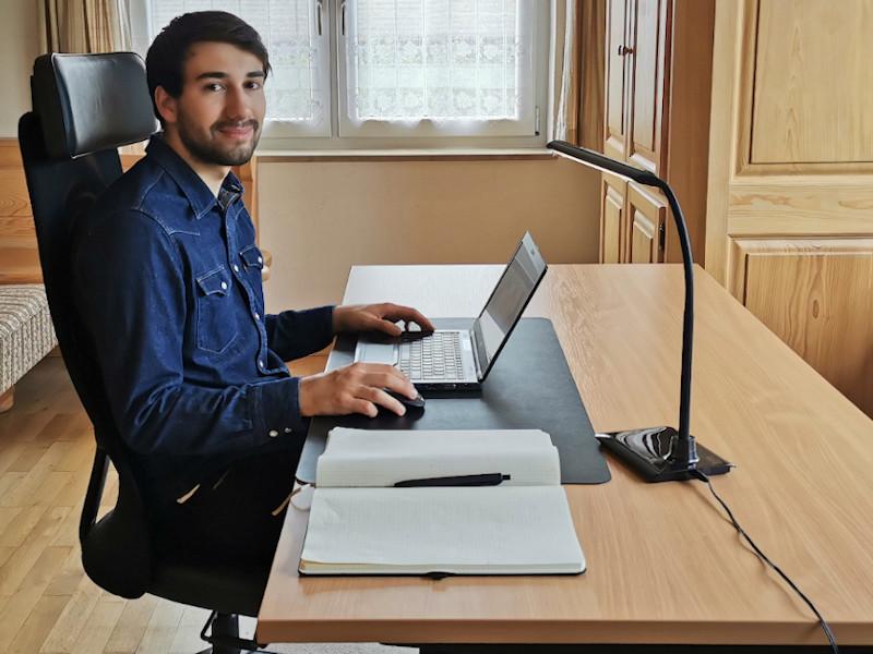 Porträtaufnahme Matthias Habersack im Home Office