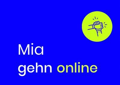 Mia gehn online! – Die Digitalisierungsinitiative für Münchner Kleinunternehmen