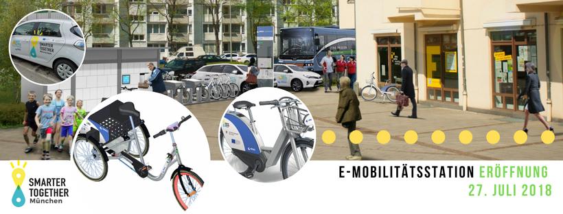 Einladung zur Eröffnung der ersten E-Mobilitätsstation