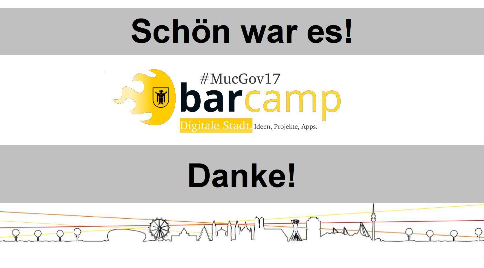 Logo des MucGov17 Barcamp