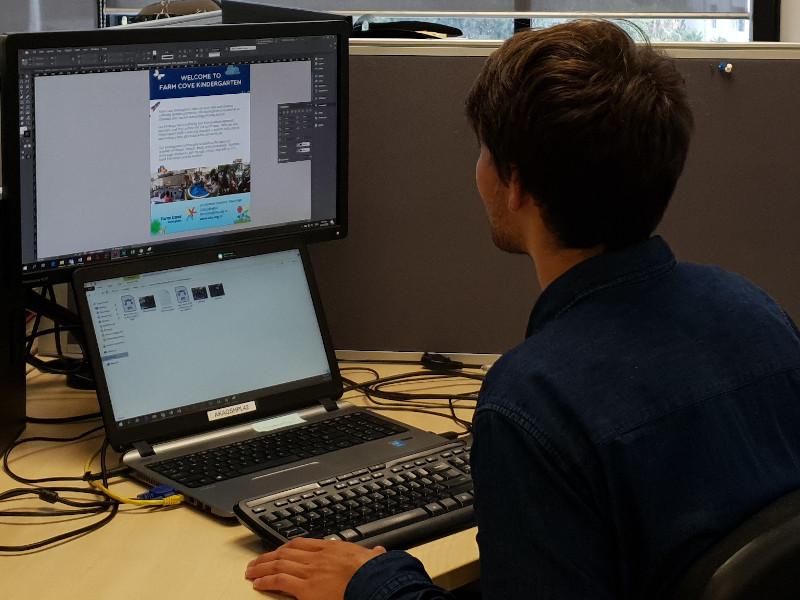 Digitales Arbeiten im Office im Praktikum in Neuseeland