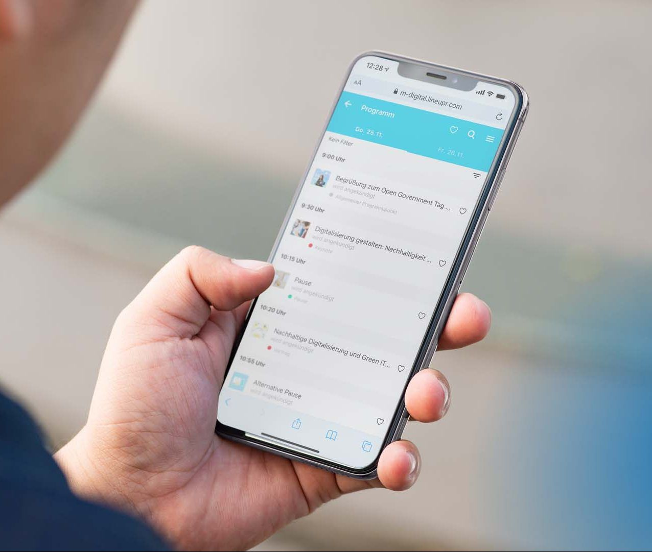 WebApp zum Open Government Tag 2021