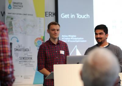 Open Data Hackathon 2019, Foto: Philipp von Derschau