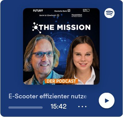 Screenshot Podcast Mission Mobility