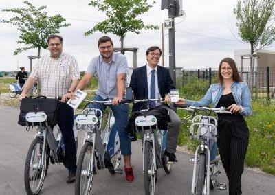Einladung zur kostenlosen Radtour durchs Smarter-Together-Projektgebiet