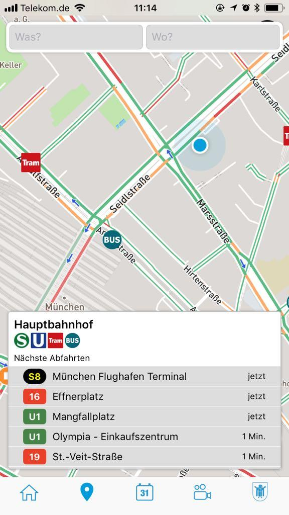 Digitale Stadtkarte - SmartCity App
