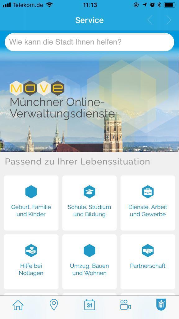 München als Smart City – Jetzt auch als App