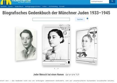 Ein virtueller Ort der Erinnerung: das Online-Gedenkbuch der Münchner Juden