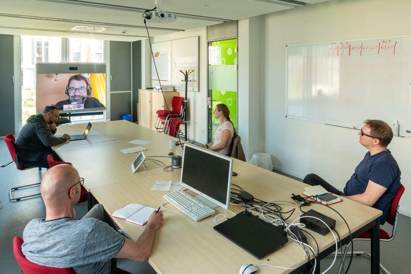 Servicedesk-Meeting