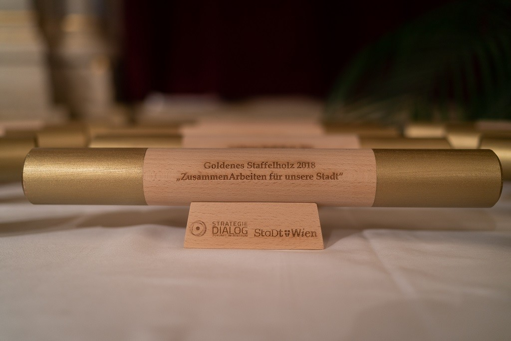 """Das """"Goldene Staffelholz"""" – Gemeinsam Großes bewirken in Wien"""