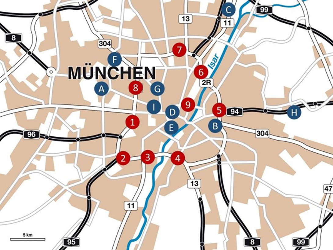 Überblick Tunnelnetzwerk