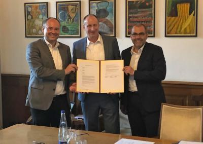 Digitalisierung als gemeinsames Zukunftsthema: Nürnberg, Augsburg und München unterzeichnen Kooperationsvereinbarung