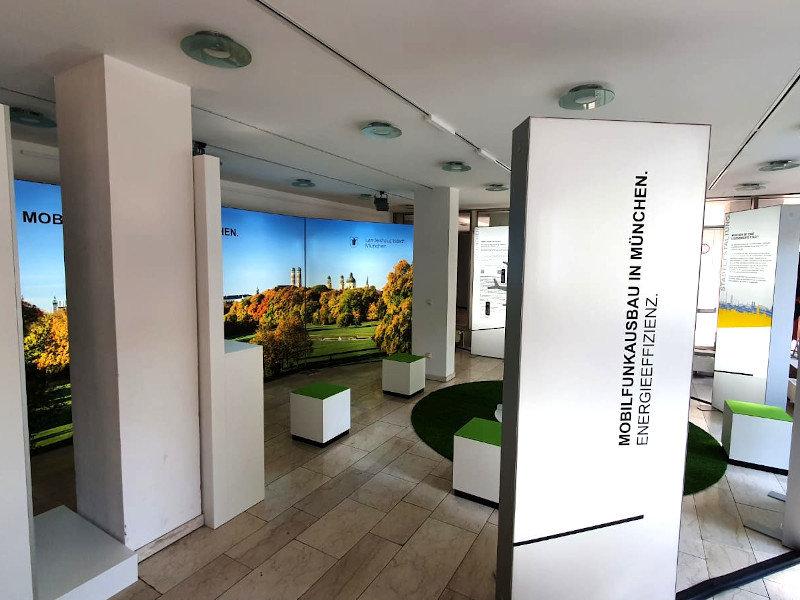 Ausstellung zum Mobilfunkausbau