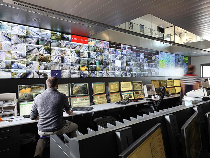 Verkehrsleitzentrale der Stadt München, Tunnelnetzwerk