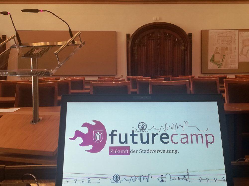 Präsentation des FutureCamps im Stadtrat