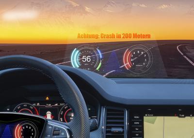 """Monitoring-Software: """"Achtung bitte bremsen – in 200 Metern kommt ein Crash"""""""