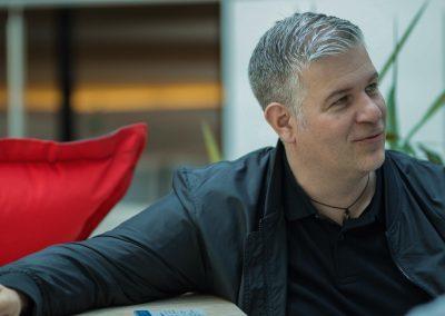 Peter Hurnaus von Microsoft auf dem FutureCamp
