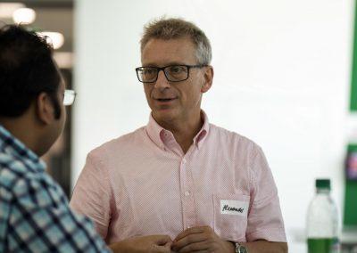 Ausbildungsleitung Alexander Lendner auf dem FutureCamp 2018