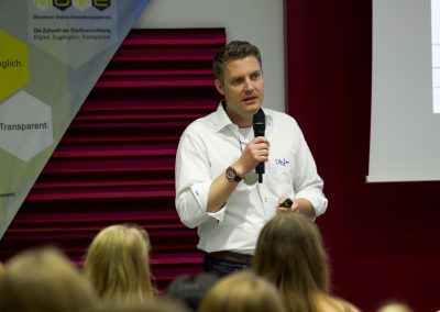 Dr. Stefan Döring moderiert auf dem FutureCamp18