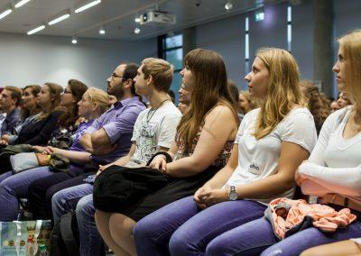 Publikum beim FutureCamp18