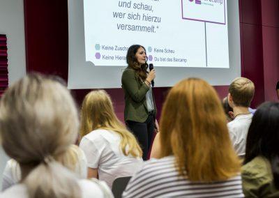 Lisa Zech moderiert das FutureCamp 2018