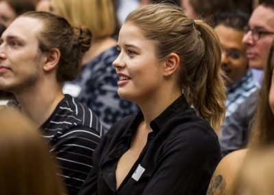 Teilnehmerin auf dem FutureCamp18